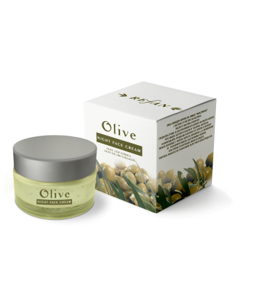 "Naktinis veido kremas ""Olive"" 30ml"