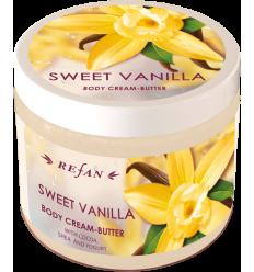 """Kūno kremas- sviestas """"Sweet Vanilla"""" 200ml"""