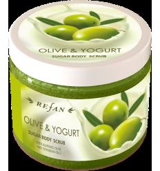 """Kūno šveitiklis """"Olive and Yogurt"""" 240g"""