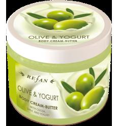 """Kūno kremas-sviestas """"Olive and Yogurt"""" 200ml"""