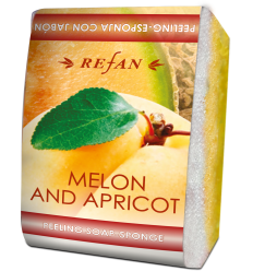 "Muilas-kempinė pilingui ""Melon and Apricot"" 75 g"